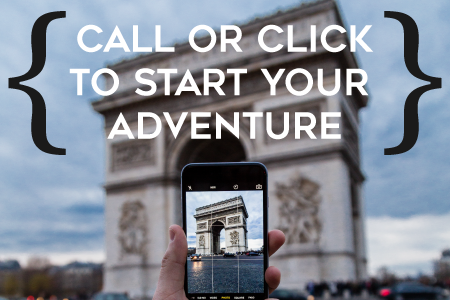 Call or click to start your adventure